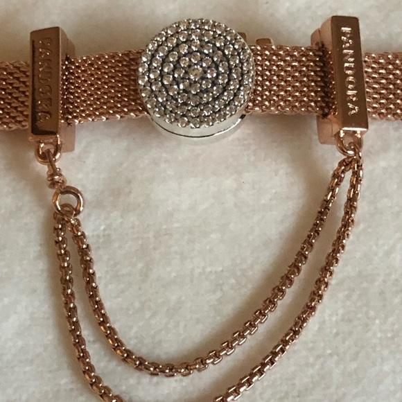 dd9a8f6d77ba2 pandora reflections rose gold bracelet